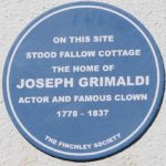 Joseph Grimaldi Blue Plaque
